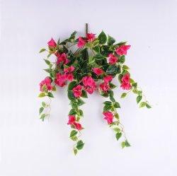 Wand-hängende Silk Blumen-hohe Simulations-künstliche Bouganvilla-Blume für Dekoration