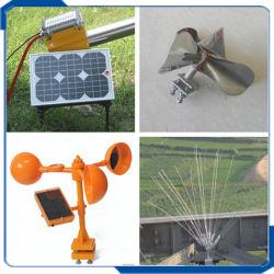 С высоты птичьего полета солнечной энергии от комаров, Wind-Powered Scarer Repeller, с высоты птичьего полета