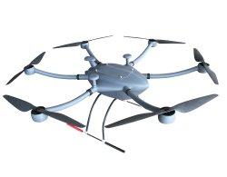 T-drones Uav professionnel 5-10kg Charge utile drone d'aéronefs pour l'arpentage, cartographie et le transport de marchandises etc.