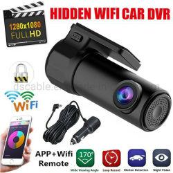 Voiture DVR 1080P FHD planche de bord Tableau de bord caché Cam Camera Video Recorder son WiFi intégré