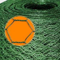 Filets de grillage métallique hexagonal galvanisé