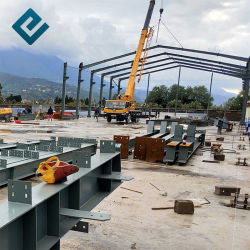 ASTM Prefab pesada estrutura de aço pré estruturais metálicos de Engenharia de fabricação de aço de construção manual