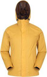 I Mens di T impermeabilizzano il rivestimento della pioggia - impermeabile impermeabile, cappotto leggero, aggraffature legate, rivestimento casuale chiuso con chiusura a lampo di Cagoule delle caselle - per viaggiare