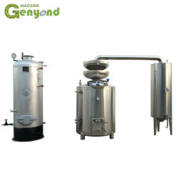 Gyc álcool destilado a máquina de condensação de extração de destilação
