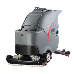 Cortadores Industrial escova dupla de preço competitivo operado a bateria da máquina de limpeza do piso