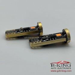T10 W5W 194 168 LED sans erreur de bus CAN de la plaque minéralogique