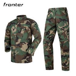Pignon de l'usine uniforme professionnel tactique Acu Camouflage Woodland uniforme de combat militaire