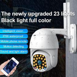2MP Zoom 5X HD PTZ de visión nocturna por infrarrojos Mini Outdoor Indoor de velocidad media de la seguridad Wireless WiFi Cámara domo de vigilancia de la resistente al agua