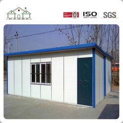 Pequenos painéis sanduíche Temporária Modular Steel Fram Kit Prefab House para o campo de trabalho/Portaria