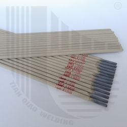 Eletrodo de solda E6011 com solda suave da superfície de metal com bordas e a estabilidade do arco de solda