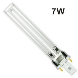 7W lâmpada UV PLS 253.7nm H-Tubo de Raios Ultravioleta Lâmpadas de esterilização
