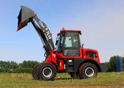 Zl16f 1.6ton chino Tractor agrícola Jardín compacta mini cargadora de ruedas frontales con Ce demostrado