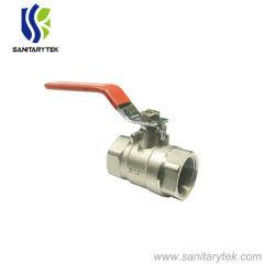 Latón forjado de alta calidad de la válvula de bola con palanca larga (V20-013)