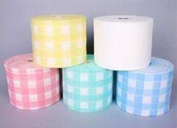 Cosmétique 20m Non-Woven Mouchoirs de papier chiffon de nettoyage des tissus jetables sentiment face serviette essuie-glace d'hôtes faciale