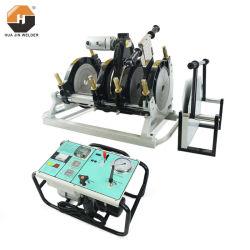 315mm máquina de soldadura hidráulica de fusión de buto para HDPE PE PP PPR tubos de plástico / máquina de unión de tuberías / soldadora Huajin