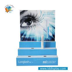 Fournisseur de ventes à chaud de la Chine 3 niveaux de la promotion de la crème des cosmétiques Mascara comptoir Présentoir