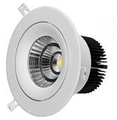 6 Вт/10W/12W/20W/25W/30W/35W/40 Вт регулируемый LED затенения потолочный светильник с КРИ микросхема початков