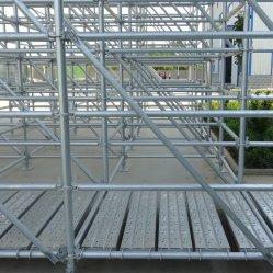 건축 비계 도매 강철에 의하여 직류 전기를 통하는 Layher Allround Ringlock 시스템 비계