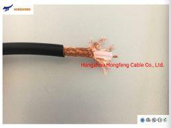 Rg58 Communicatie van de Kabel van 50 Ohm de Draadloze Coaxiale Kabel Van uitstekende kwaliteit