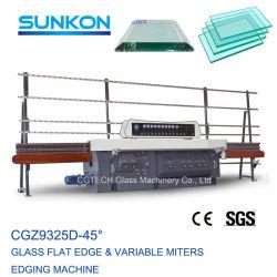 Edger piano di vetro efficiente del Ce & macchina variabile del bordo del Edger del mitra