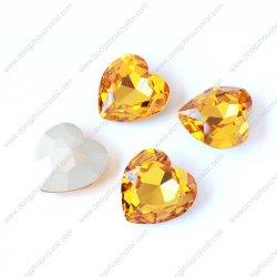 Point de retour en forme de coeur Crystal Stone (DZ-3005)