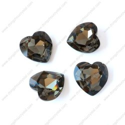 Cristal en forme de coeur de la pierre pour accessoires bijoux (3005)