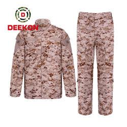 Il militare uniforme del camuffamento dell'esercito copre il vestito militare dei vestiti tattici per uso di combattimento