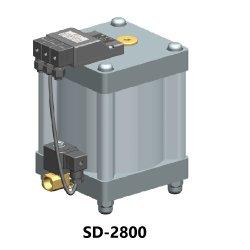 Modello astuto SD2800 dello scolo di Aria-Perdita della valvola di scarico della presa dell'aria dello scolo automatico condensato zero di Comoressor