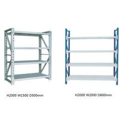 Scaffale in metallo rack in acciaio per magazzino scaffalature senza bolle