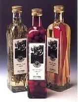 Clair bouteille d'huile d'olive, huile de cuisson le flacon en verre