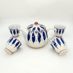 Cerámica Teaset Hight-Quality Hand-Painting Underglazed potable/Set/Set de regalo