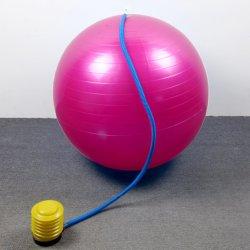 요가 볼 피트니스 불팽창식 역동형 트레이닝 컬러풀한 PVC 운동 레인보우 짐 장비 맞춤형 운동 체육관 요가 볼