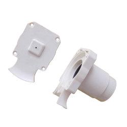 Cortina branca componentes e peças de plástico