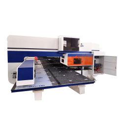 Mecánica punzón de lámina metálica de torreta CNC punzonadora de prensa para el armario eléctrico y punzón de persiana