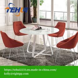 Mesa de jantar para sala de jantar móveis domésticos mobiliário de jantar móveis de vidro