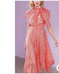 2020 chiffon con il vestito dalle signore di modo di usura di estate del Patten della pianta