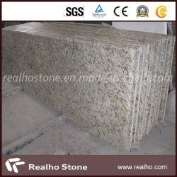 De uitstekende kwaliteit poetste het Gele Graniet van Brazilië Giallo van het Graniet Sier Gouden voor Countertops op