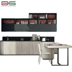 Европейский дизайн MDF меламина УФ лака Высокая кухня Grossy шкафа электроавтоматики