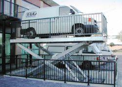 US-Design vier Zylinder heben Auto Transport Aufzug mit CE