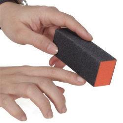 Bloco de unhas Art Manicure 3 maneiras Shiner arquivo de buffer de pregos de lixagem