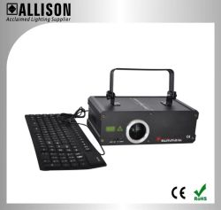 Luce laser della tastiera della discoteca 500MW di ALS per le parole digitanti Freely