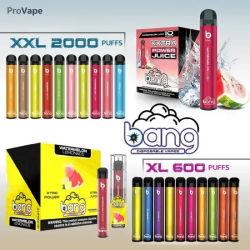 Горячая продажа оптовой новых вкусов новейших Bang XXL электронных сигарет