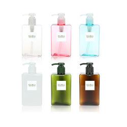 Kosmetische Plastiklotion-Flasche der Lotion-Klumpen-Shampoo-Flaschen-100ml 150ml 250ml 450ml PETG