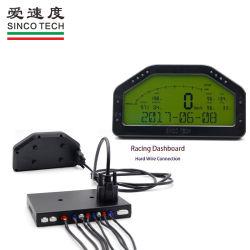 Fazer908 Sincotech 9V-16V medidores de carro de corrida difícil ligação do fio preto de bordo