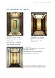 L'Asie FUJI Hôtel confortable Ascenseur Ascenseur panoramique Accueil ascenseur