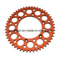 Motorrad zerteilt Kettenrad der CNC-Aluminiumlegierung-6061-T6