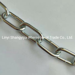 Q195 Q235 軟鋼製電気亜鉛めっき韓国標準リンクチェーン ショートチェーン( Short Chain )