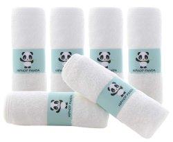 De Washandjes van de Baby van het bamboe - Handdoek van het Bamboe van 2 Laag de Zachte Absorberende - de Pasgeboren Handdoek van het Gezicht van het Bad - Natuurlijke Baby veegt voor Gevoelige Huid af - de Registratie van de Baby als Douche