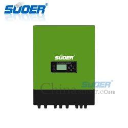 Van het het van-netWater van Suoer 450VDC 750W IP65 Omschakelaar van de Pomp van de ZonneMacht van de Omschakelaars de Pompende met LCD Vertoning