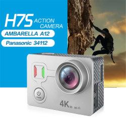 H7S 40m Câmara à prova de câmara de acção desportiva WiFi Digital 4K 30fps HD Anti-Shake underwater câmera DV Disparo Remoto